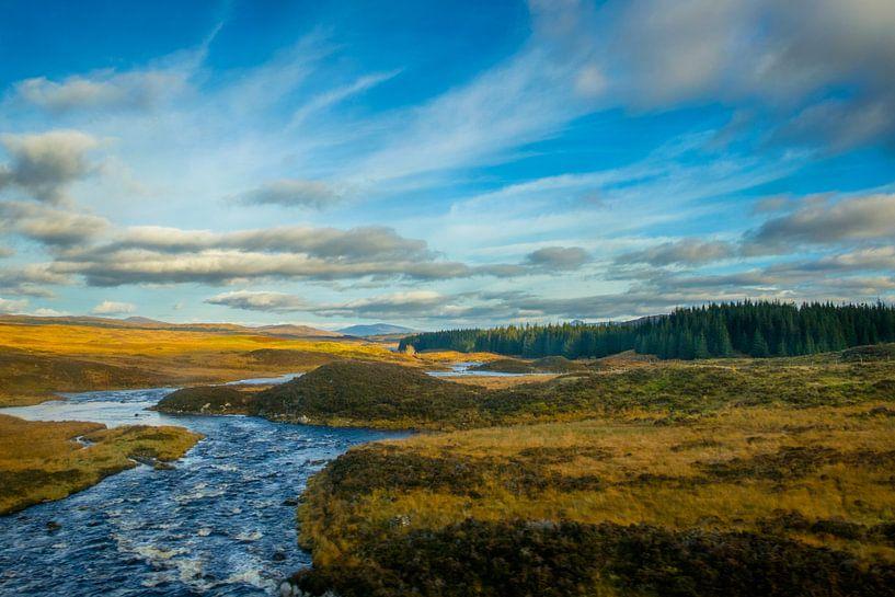 Indrukwekkend landschap in Schotland van Lidewij Olive