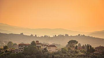 Landschaft in der Toskana von Kok and Kok