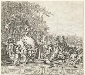 De Amersfoortse Steentrekking, 1661, Steven van Lamsweerde, naar Johannes van Wijckersloot, 1661