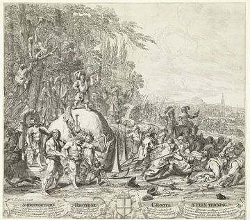 Der Amersfoortse Steentrekking, 1661, Steven van Lamsweerde, nach Johannes van Wijckersloot, 1661