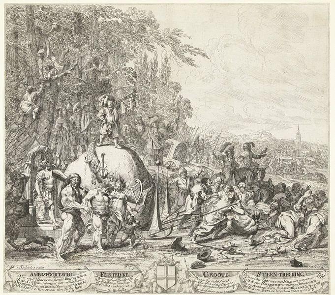 De Amersfoortse Steentrekking, 1661, Steven van Lamsweerde, naar Johannes van Wijckersloot, 1661 van Marieke de Koning