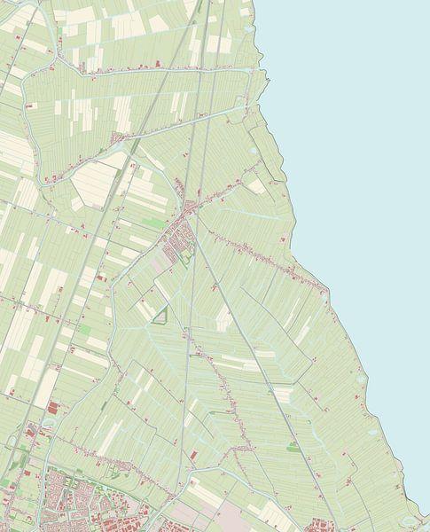 Kaart vanZeevang