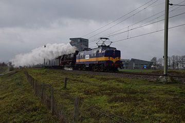 historische trein van Jeroen Franssen