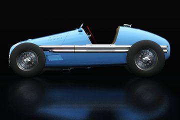 Vue latérale du Grand Prix Gordini T16