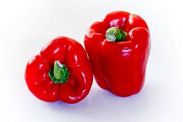 Rote Paprika von Dieter Ludorf