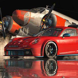 La Porsche 911GT 3 RS est si désirable sur Jan Keteleer