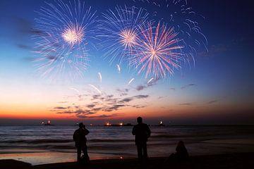 vuurwerkfestival  scheveningen  van