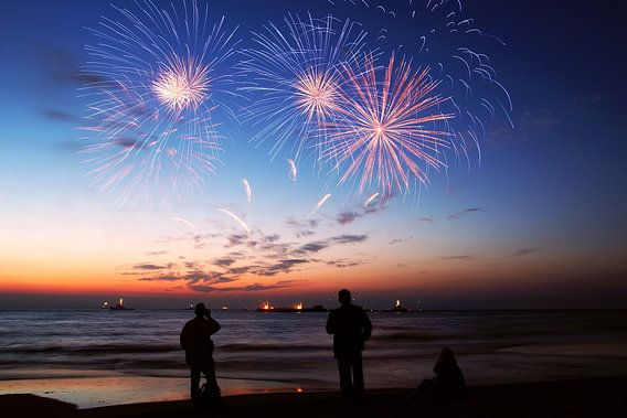 vuurwerkfestival  scheveningen  van Dirk van Egmond
