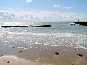 Strand Zealand Niederlande von Groothuizen Foto Art