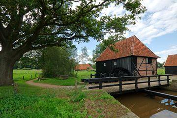 Wassermühle Oele von Wim van der Geest