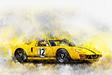 Ford GT40, 1967 von Theodor Decker