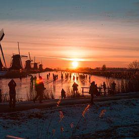 Kinderdijk winter 8 von Nuance Beeld