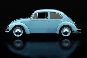 Volkswagen Kever Zijaanzicht