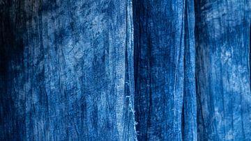 Handgeverfd indigo van Stijn Cleynhens