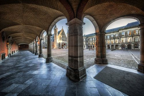 Binnenhof Den Haag van Steven Dijkshoorn