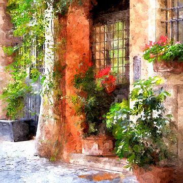Altstadt Rom von Andreas Wemmje