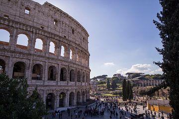 Colosseum Rome van Sander de Jong