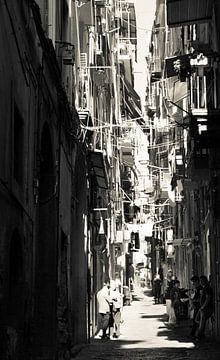 Streetlife Napels sur Marian Sintemaartensdijk