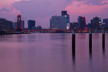 Rotterdam Skyline van Colin Bax