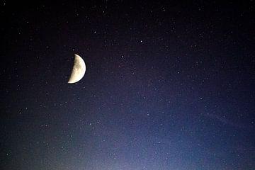 Maan en sterren van Michael Nägele