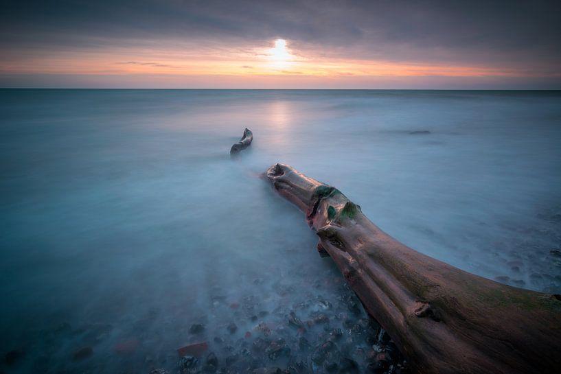 Zonsopgang aan zee van Martin Wasilewski