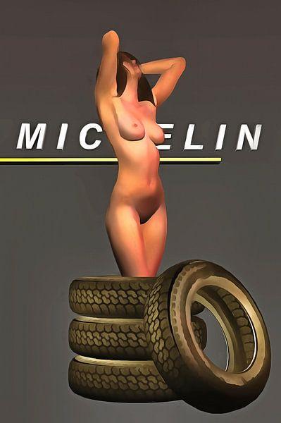 Pop Art – Michelin Pneus van Jan Keteleer