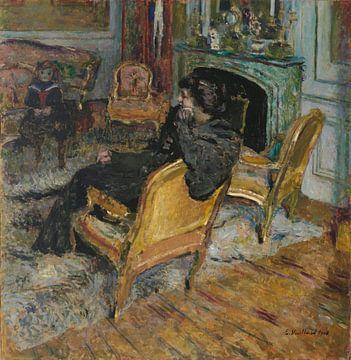 Der vergoldete Stuhl, Madame Georges Feydeau und ihr Sohn, Édouard Vuillard