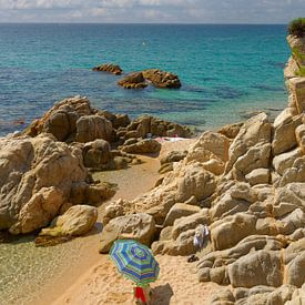 Petite plage idyllique sur la Costa Brava sur Peter Eckert