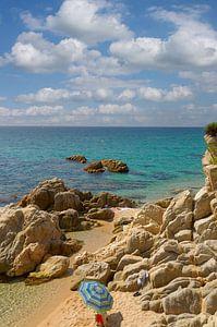 idyllischer kleiner Strand an der Costa Brava von Peter Eckert