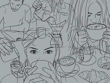 Kein Tag ohne eine Tasse Kaffee von Natalie Bruns