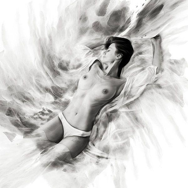 Passion 06 monochrome van Silvio Schoisswohl