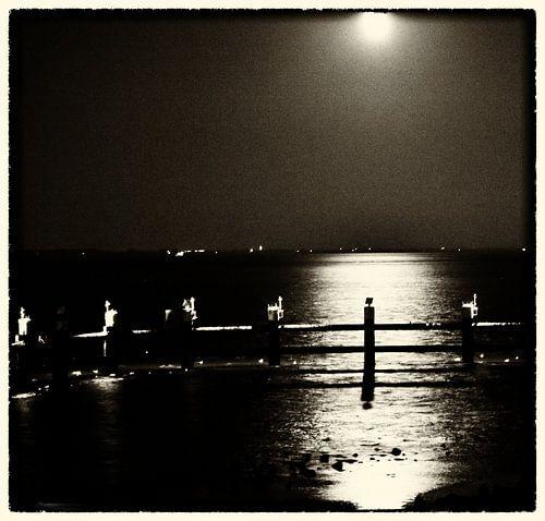 Nacht op de dijk