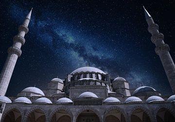 Blauwe Moskee Istanbul van nahua photo