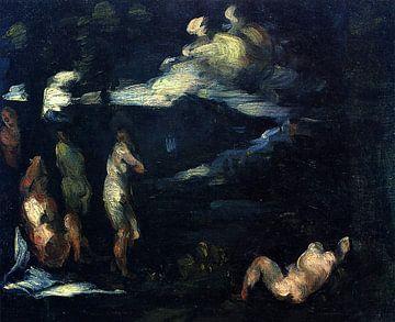 Schwimmer, Paul Cézanne - 1870