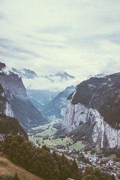 Lauterbrunnen Zwitserland von Patrycja Polechonska