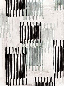 Verbunden mit Silber I, Eva Watts  von PI Creative Art