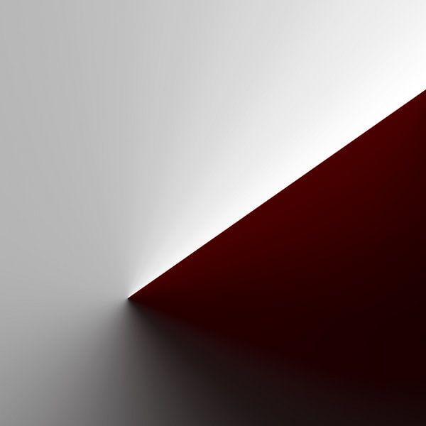 Roter Konus-Gradient von Jörg Hausmann