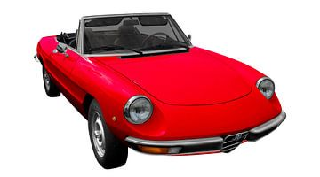Alfa Romeo Spider sur aRi F. Huber