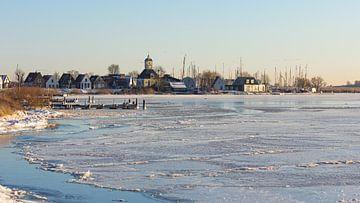 Het dorp Durgerdam in de winter van JWB Fotografie