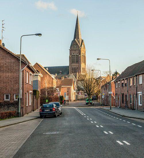 Jacobus de Meerderekerk in dorp Bocholtz