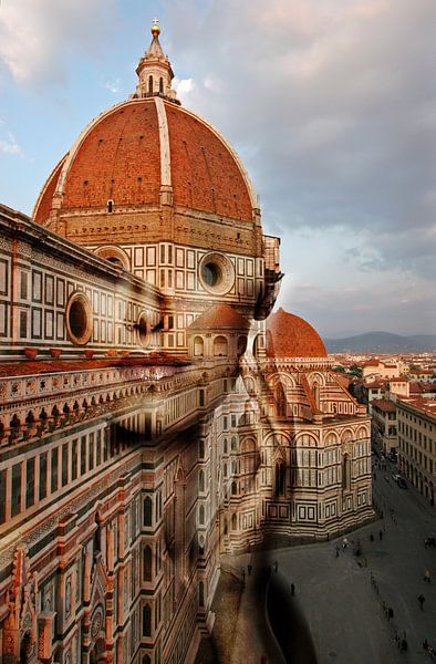 Florence Cathedral. Italy van Dreamy Faces