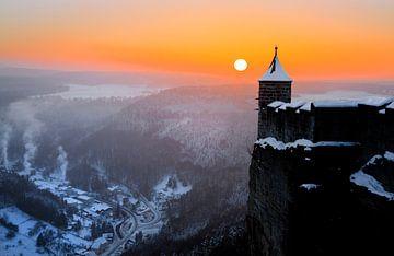 Königstein Fortress van