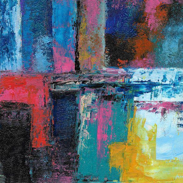 Abstracte samenstelling 742 van Angel Estevez