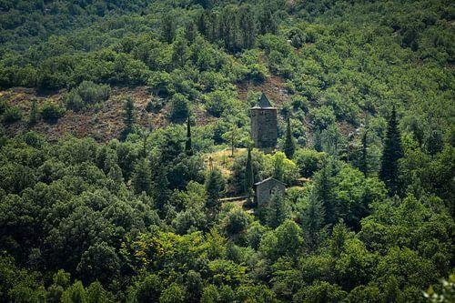 Kerktoren in de Franse Cevennes