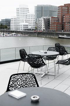 Paysage urbain de Düsseldorf