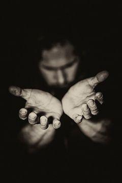 Handen en gezichten van Edwin Hunter