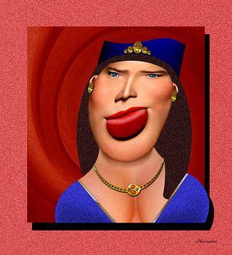 Rijke Botox Dame van Ton van Hummel (Alias HUVANTO)