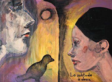 La solitude à deux von Sandrine Lambert