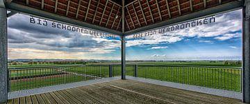 Nord-Holland Küste Landschaft von Roel Ovinge