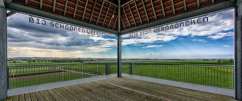 Noord-Hollands kustlandschap van Roel Ovinge